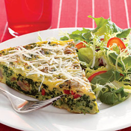 Spinach-Sausage Frittata