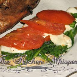 Spinach Chicken Caprese
