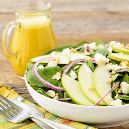Spinach Salad with Honey Tangerine Dressing