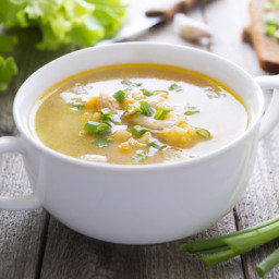 Split Pea and Potato Soup (Vegan)