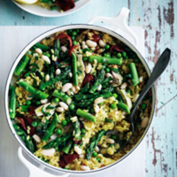 Spring-Vegetable Paella