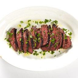 St. Anselm's Garlic Steak