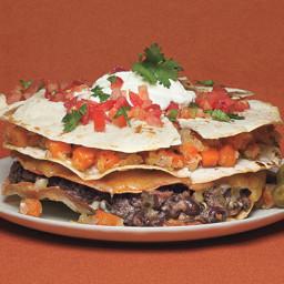 Stacked Veggie Quesadilla