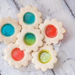 Stained Glass Window / Lollipop Cookies