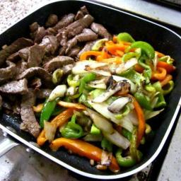 Steak and/or Chicken fajitas