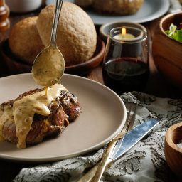 Steak Diane for Two