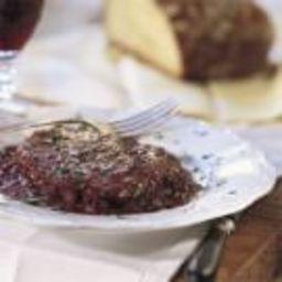 Steak with Shallot-Red Wine Sauce (Bifteck Marchand de Vin)
