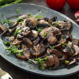 Steakhouse Sauteed Mushrooms Recipe