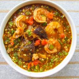 Stewed Okra Soup