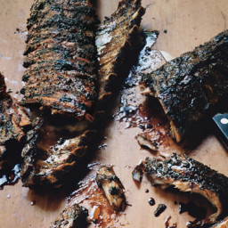 Sticky Balsamic Ribs