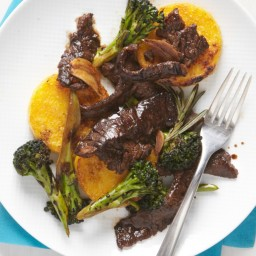 Stir-Fried Beef with Garlic and Rosemary
