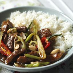 Stir-fried chilli pork