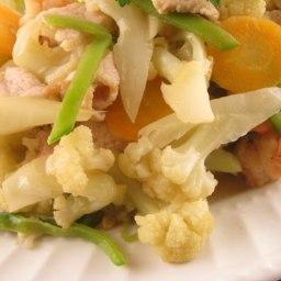 Stir-fry Cauliflower