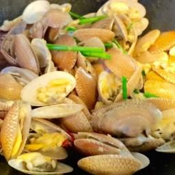 Stir Fry Garlic Clams
