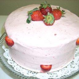 Strawberry Dessert Cake