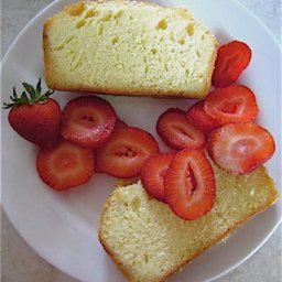 Strawberry Lemon Bavarian Cake