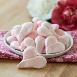 Strawberry Meringue Hearts