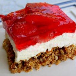 Strawberry Preztel Salad