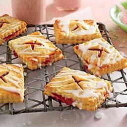 Strawberry-Rhubarb Tartlets