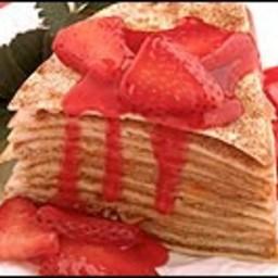 Strawberry Tortilla Torte