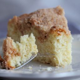 Streusel Crumb Sour Cream Coffee Cake