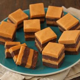 Striped Butterscotch Fudge