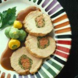 Stuffed Pork Loin Genoa Style