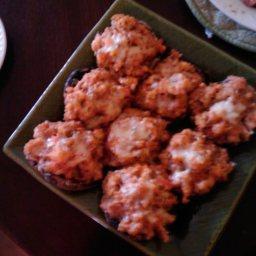 Stuffed Portabella Mushroom