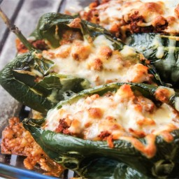 Stuffed Pablano Peppers