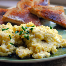 Sublime Scrambled Eggs by Gordon Ramsay