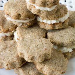 Sugar Free Grain Free Biscoff Cookies