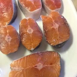 Sugar Glazed Grilled Salmon