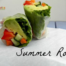 Summer Roll – the perfect roll any time of year!