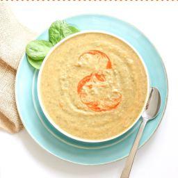 Summer Veggie and Bean Soup