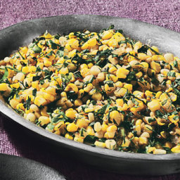 Summer Corn Sauté with Tons of Herbs