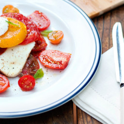 Summer Heirloom Tomato Salad