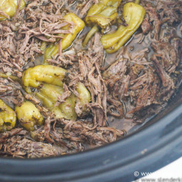 Sunday Slow Cooker: Pepperoncini Beef aka Drip Beef