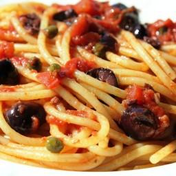 Sunday Pasta ®: Spaghetti alla Puttanesca