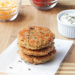 Sun Dried Tomato and Mozzerella Quinoa Burgers