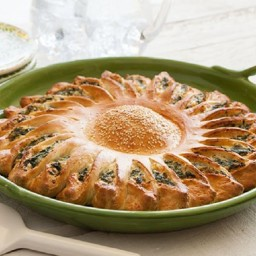 Sunflower Spinach Pie
