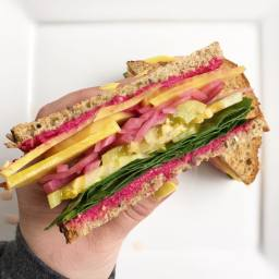 Sunshine Vegan Sandwich