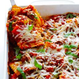 Super-Easy Ravioli Lasagna