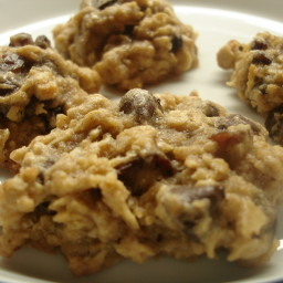 Super Healthy Chocolate Chip & Oats Cookies