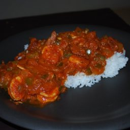 Super Hot Andoullie & Shrimp Creole