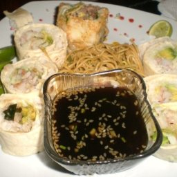 Sushi Style Pinwheels