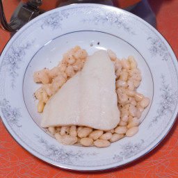 Swai and beans