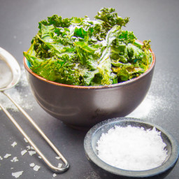 Sweet and Salty Kale Chips