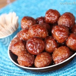 Our Best Bites Slow Cooker Sweet and Sour Meatballs