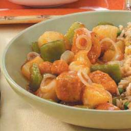 Sweet-and-Sour Popcorn Chicken Recipe