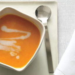 Sweet and Spicy Carrot Bisque